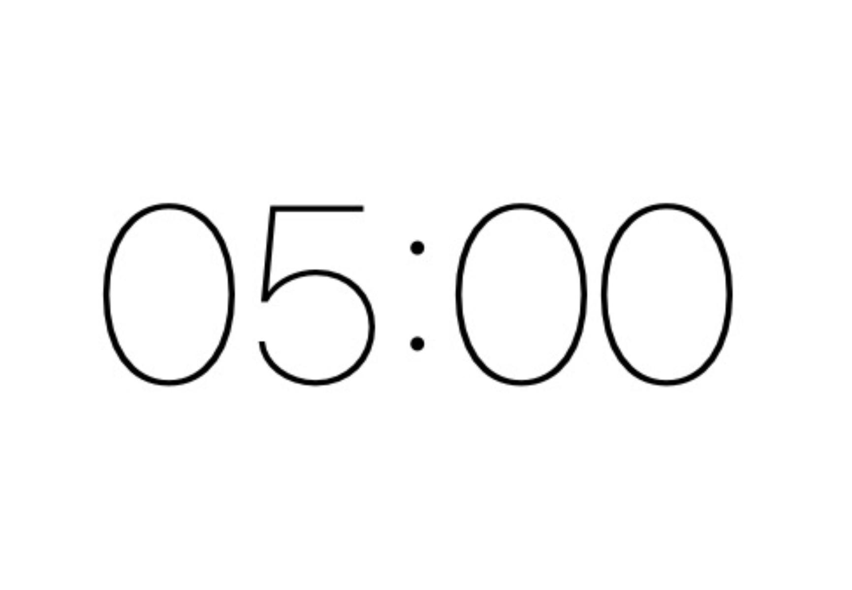 毎日5分の要約