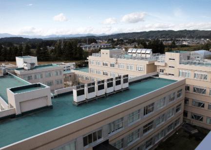 一関高専校舎
