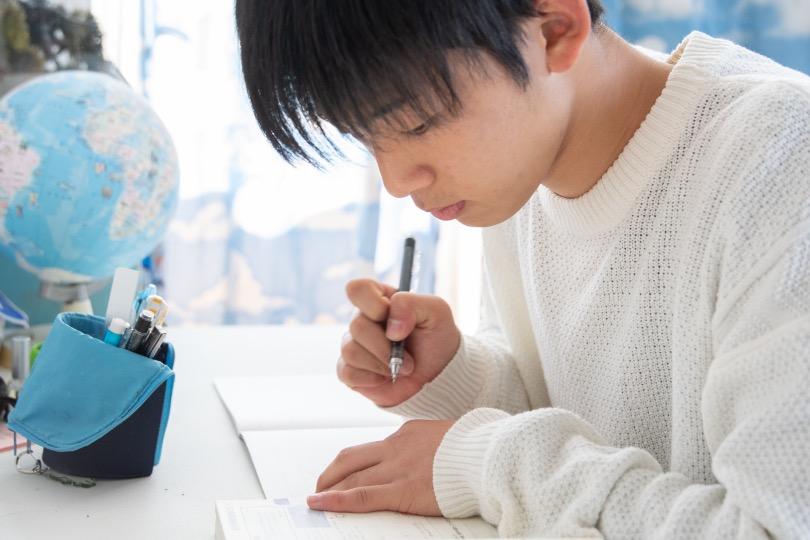 家での受験勉強